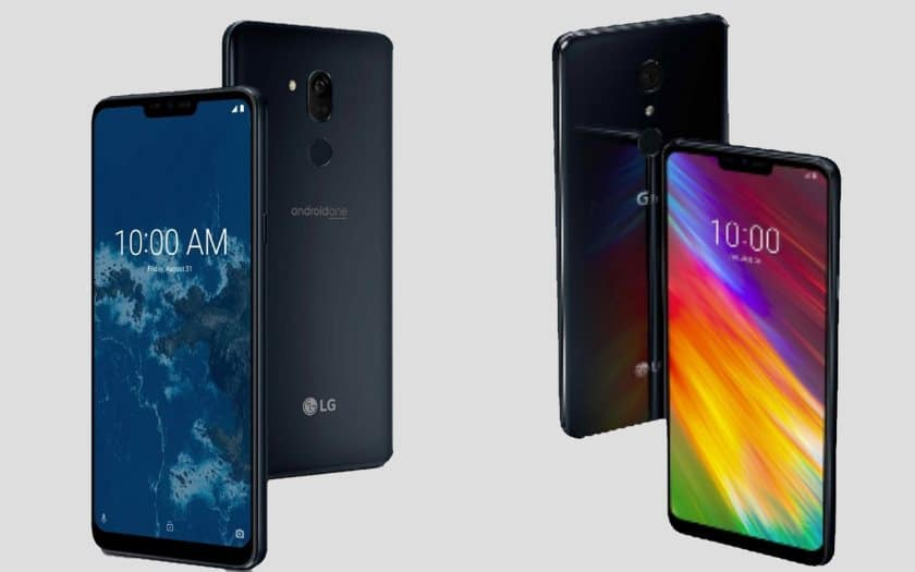 lg g7 thinq android one moins chere