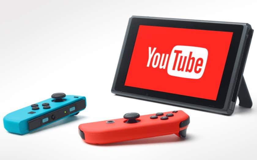 nintendo switch internet youtube