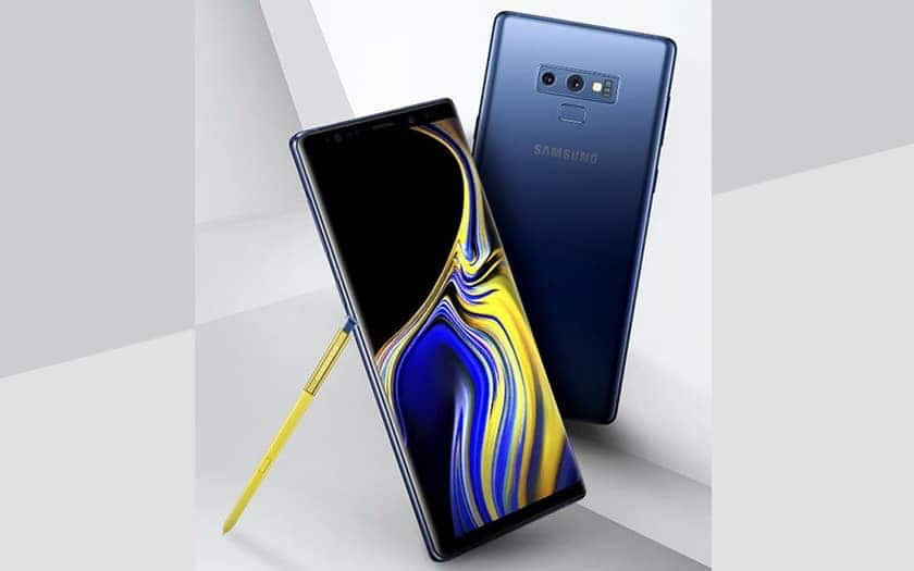 note 9 disponible france