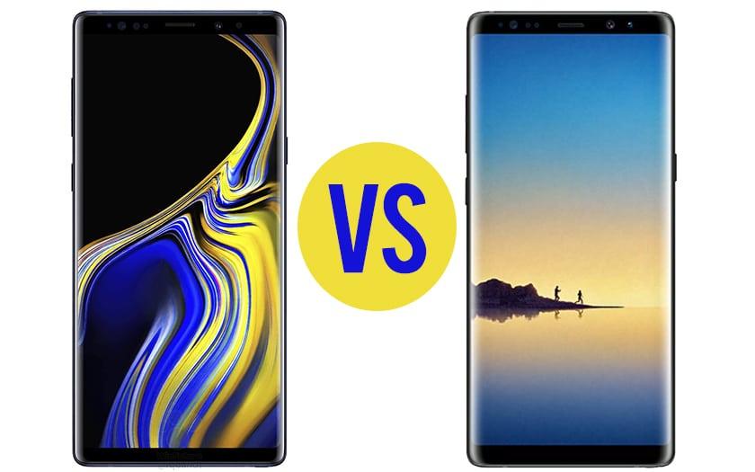Différences entre le Samsung Galaxy Note 9 et Note 8