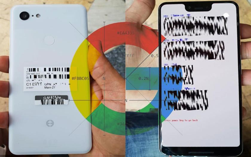 pixel 3 xl fiche technique