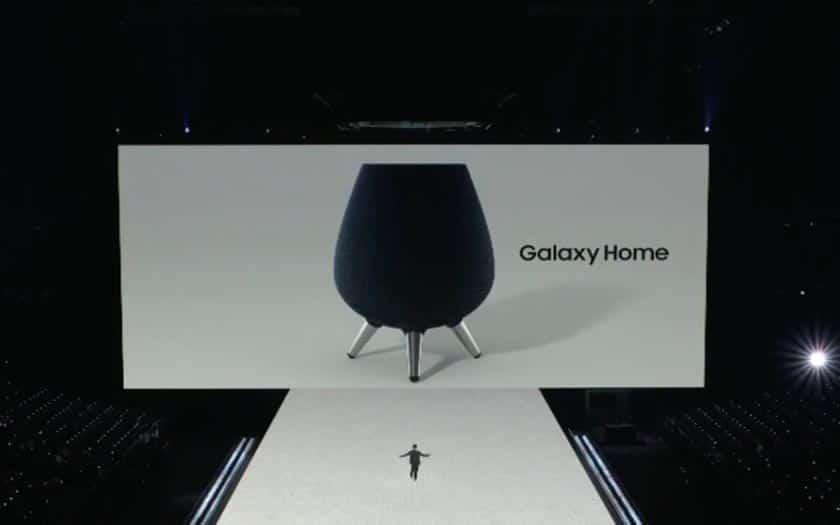 Enceinte connectée Samsung Galaxy Home