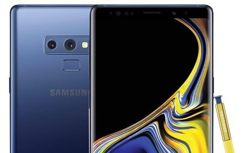 samsung galaxy note 9 ecran