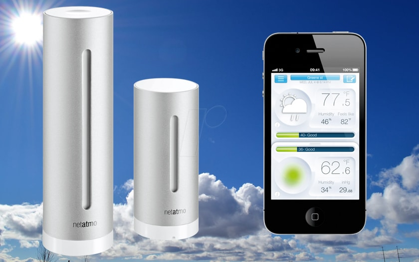 Best connected weather stations
