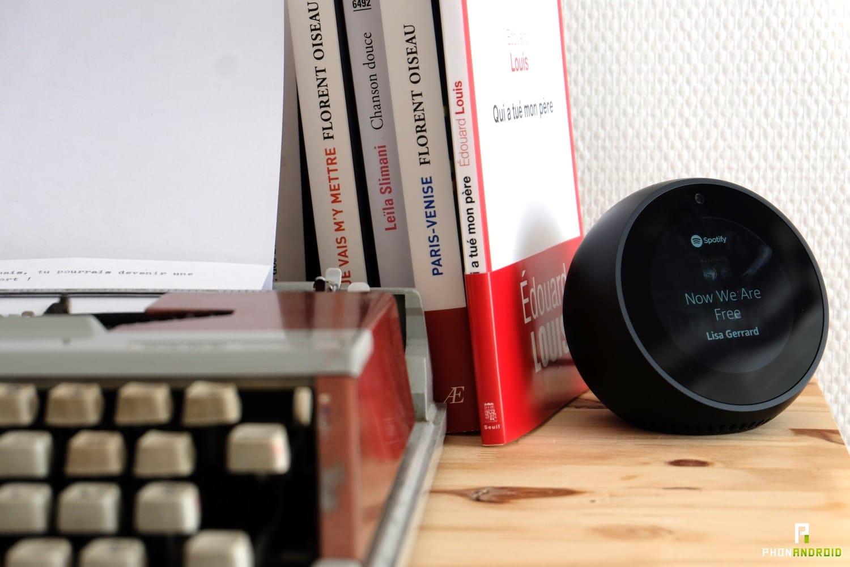 test amazon echo spot audio