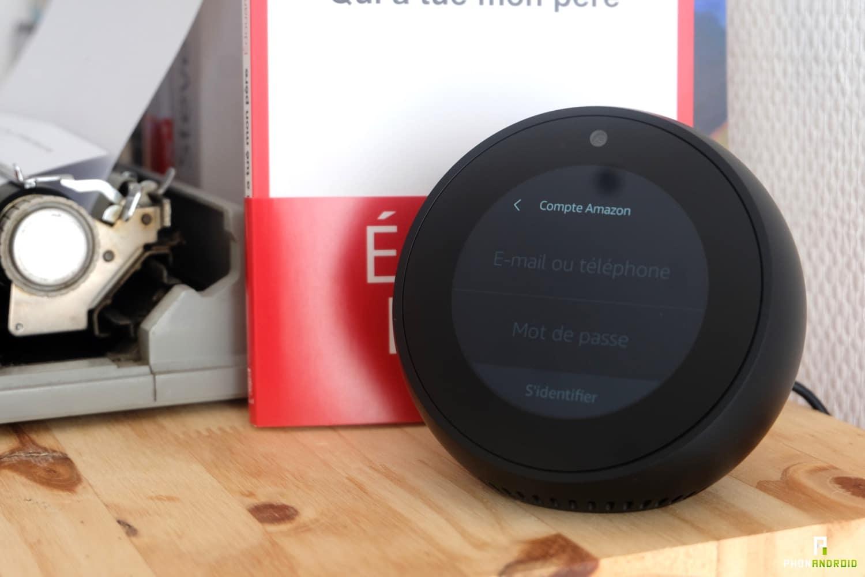 test amazon echo spot configuration