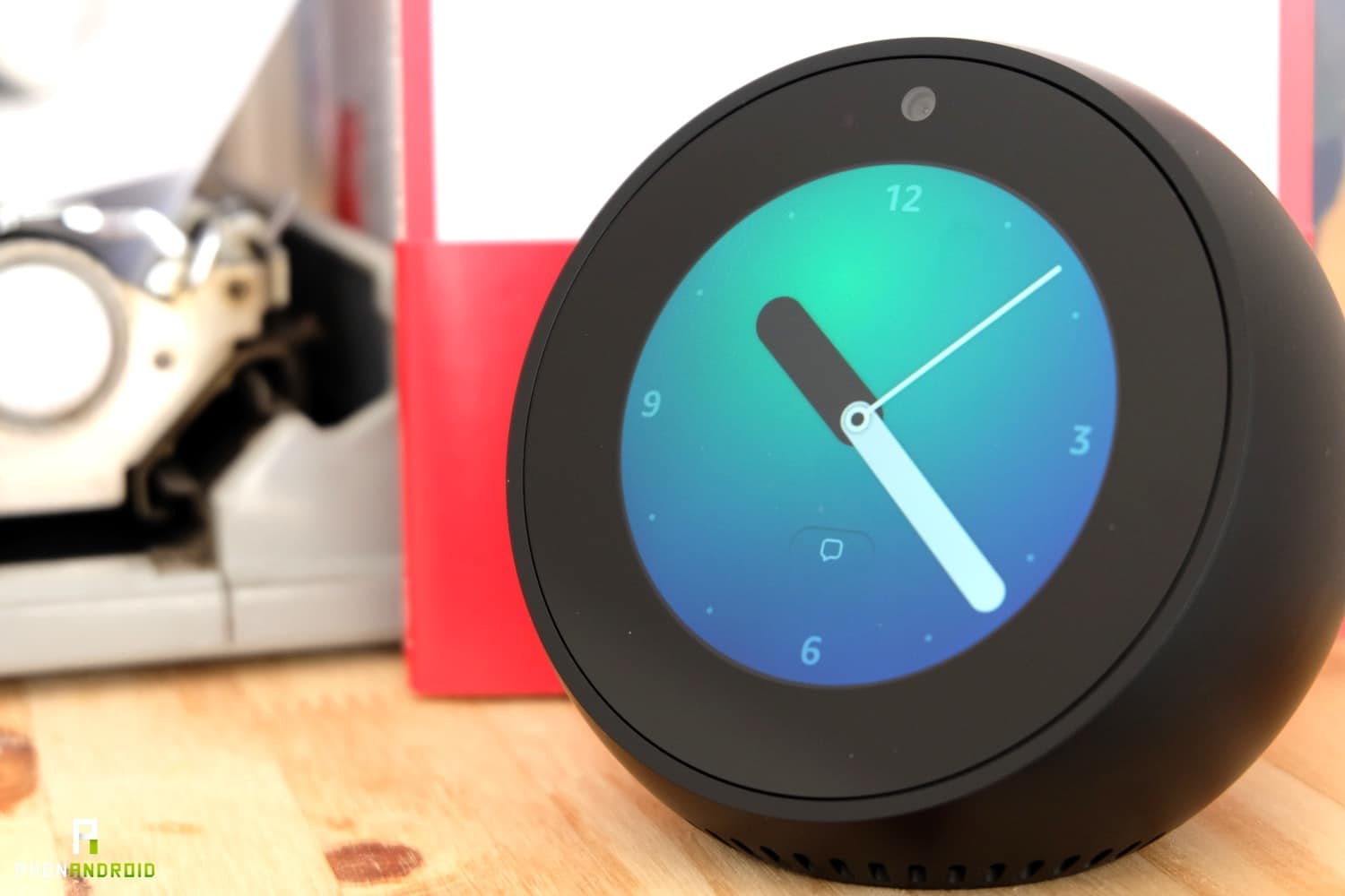 test amazon echo spot horloge