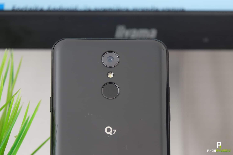 test lg q7 appareil photo