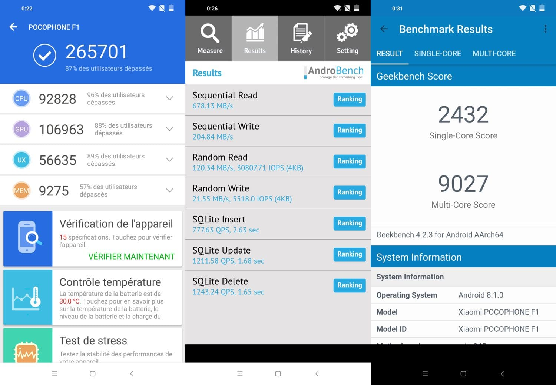 test pocophone f1 benchmarks