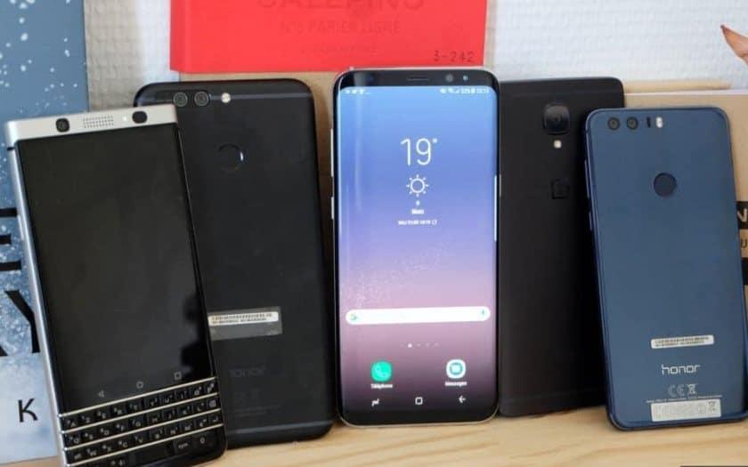 ventes smartphones huawei xiaomi