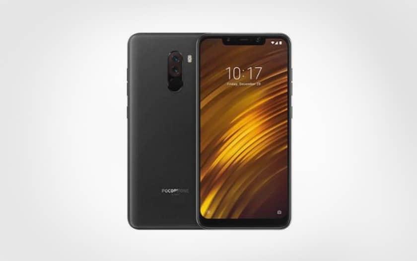 smartphone Xiaomi Pocophone F1 à 229€