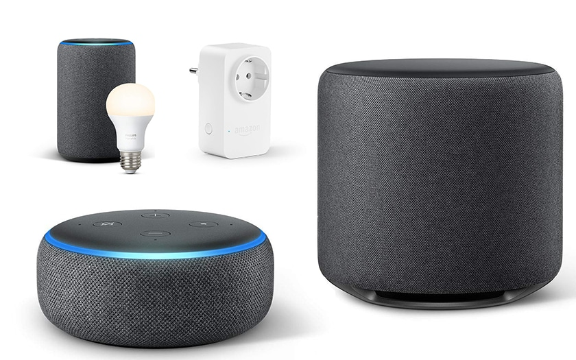amazon lance les enceintes echo dot plus sub o trouver le meilleur prix. Black Bedroom Furniture Sets. Home Design Ideas