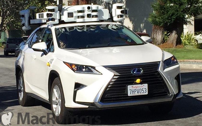 apple voiture autonome