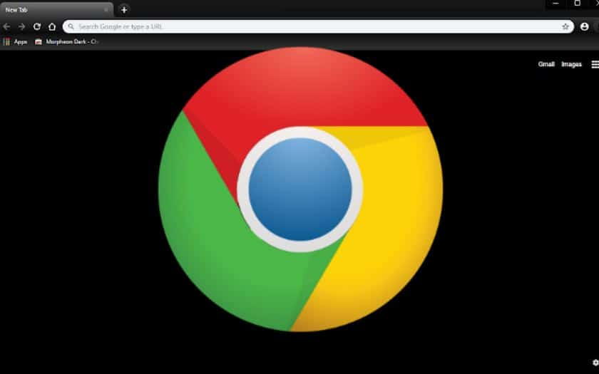 chrome mode sombre mac