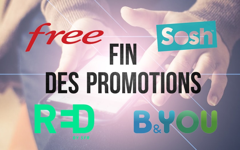 fin des promotions free sosh b&you sfr red