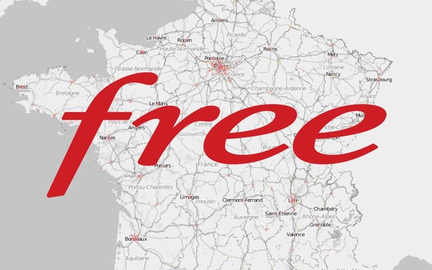 Free publie enfin une carte de couverture et d'éligibilité à la fibre optique