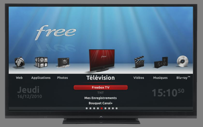 freebox tv panne
