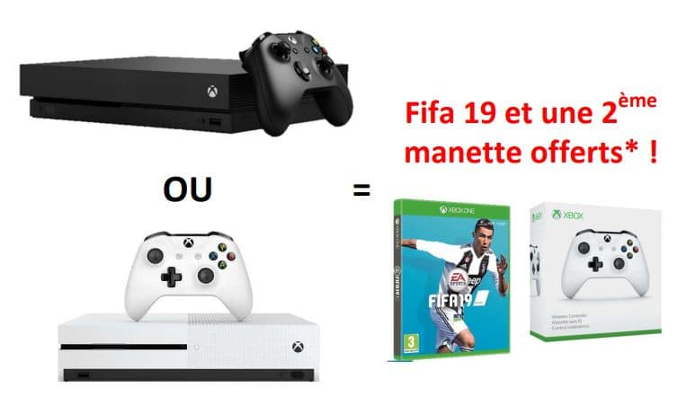 Carte Xbox Live Boulanger.French Days Boulanger Fifa 19 Et 2eme Manette Offerts