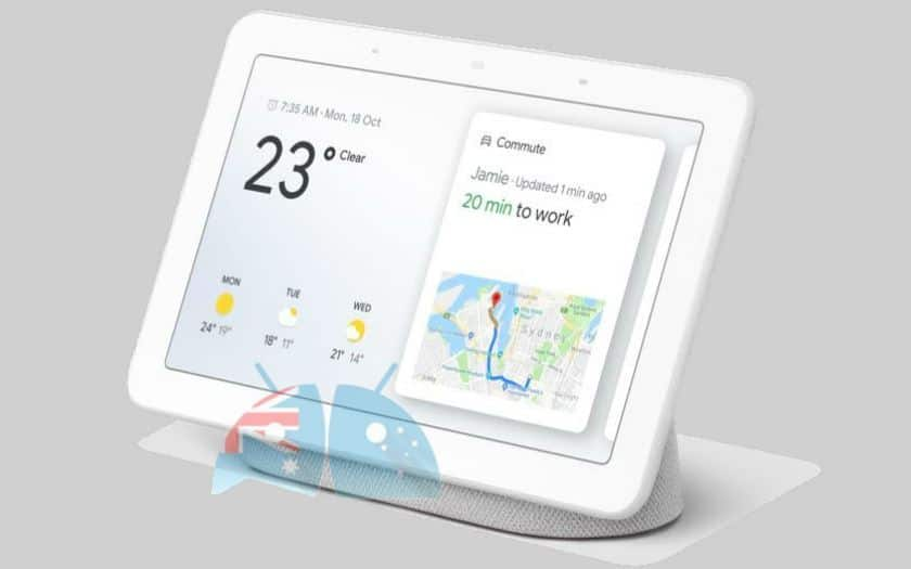 google home hub photo