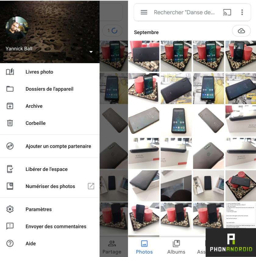 google photos mise a jour