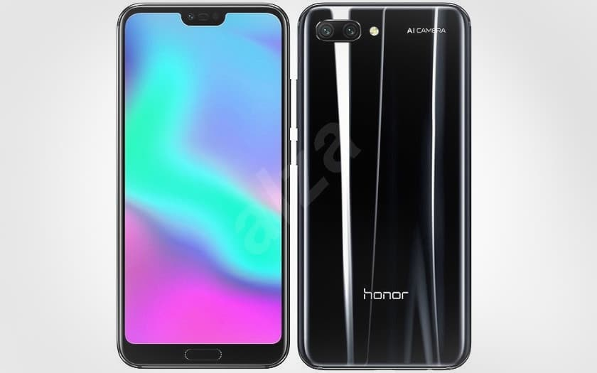 honor 10 noir