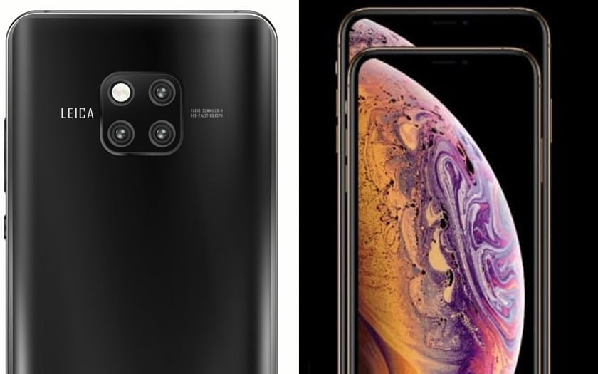 huawei mate 20 iphone xs