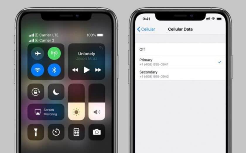 iphone xs double sim
