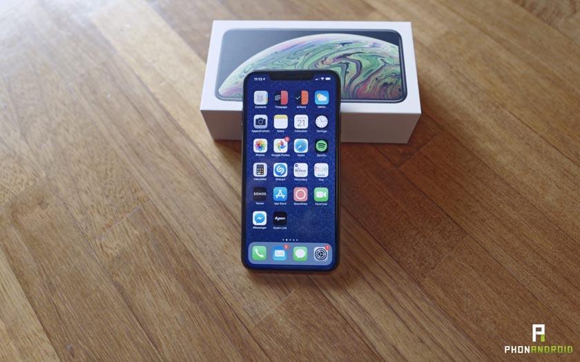 foto de L'iPhone XS Max 512 Go à 1659 € est celui qui se vend le mieux