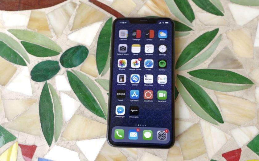 iphone xs max meilleur ecran