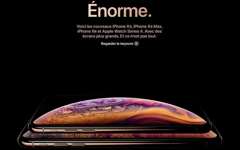 foto de iPhone XS : seulement 4 Go de RAM et une batterie 2700 mAh, et alors ?