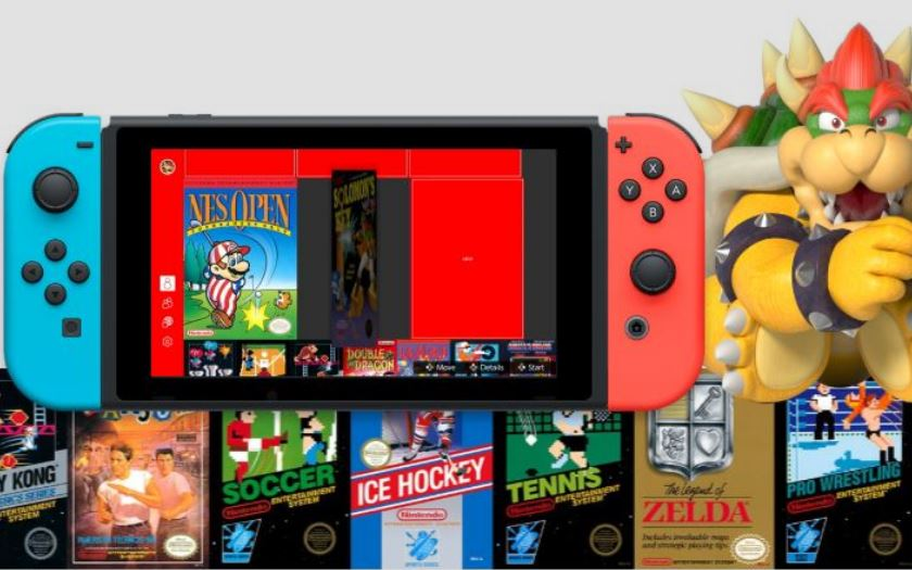 nintendo switch jeux nes