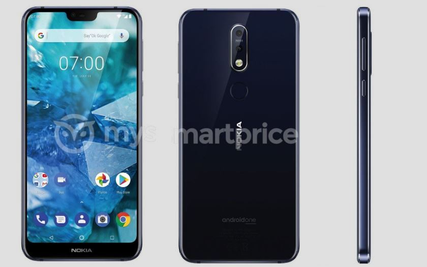 nokia 7.1 plus design