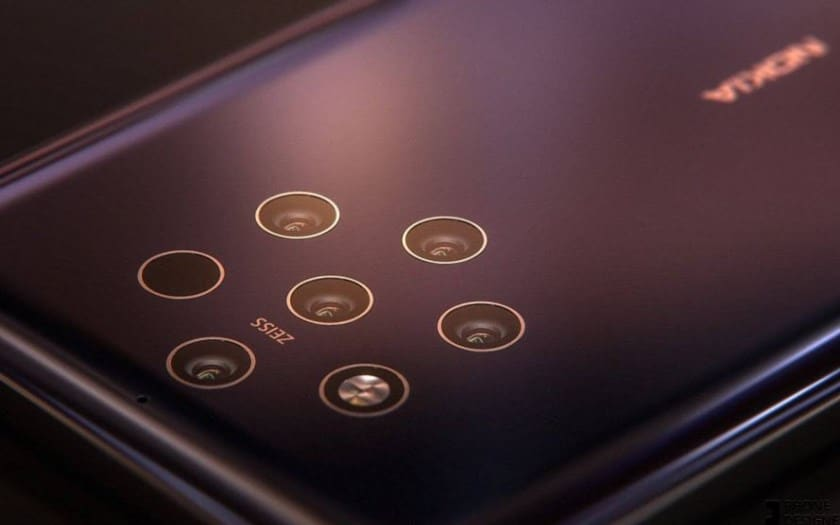 nokia 9 rendu 5 capteurs photo