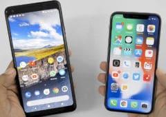 pixel 2 iphone xs