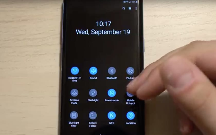 samsung galaxy S9 android pie