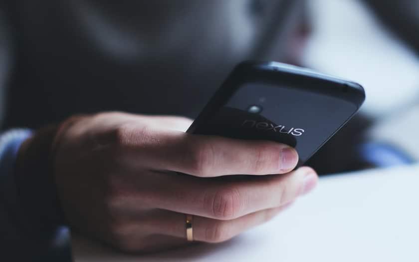 smartphone perdu vole