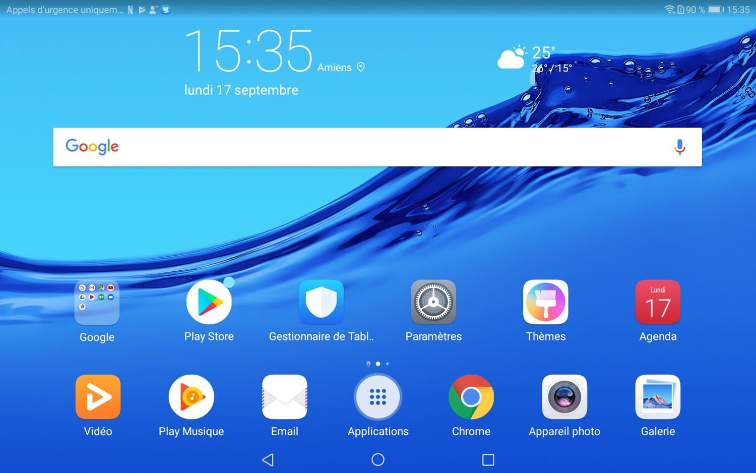 test huawei mediapad m5 lite interface