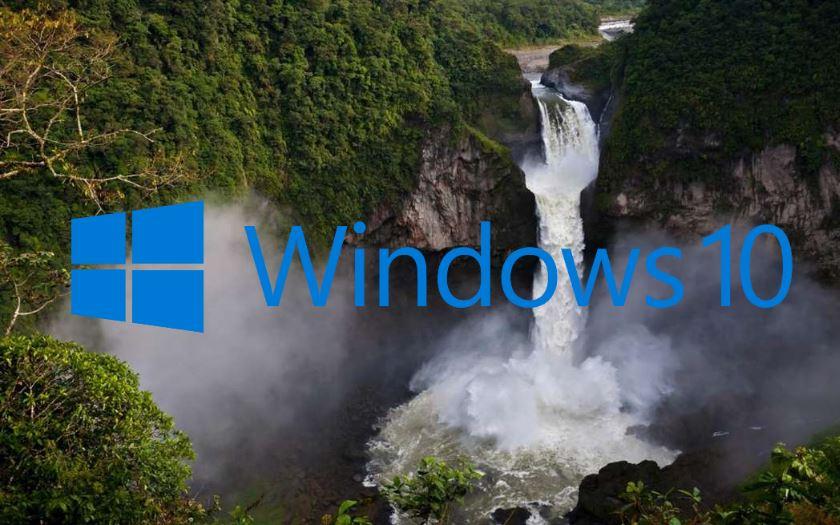 windows 10 fonds ecran