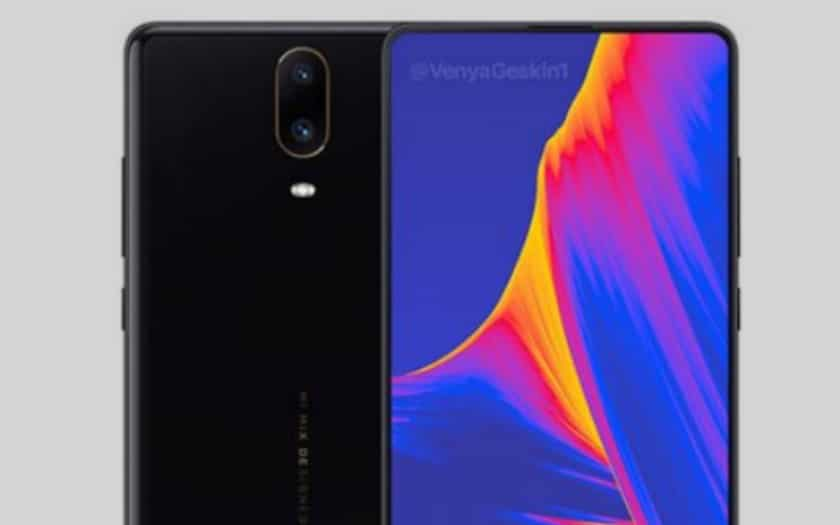 xiaomi mi mix 3 ecran coulissant video