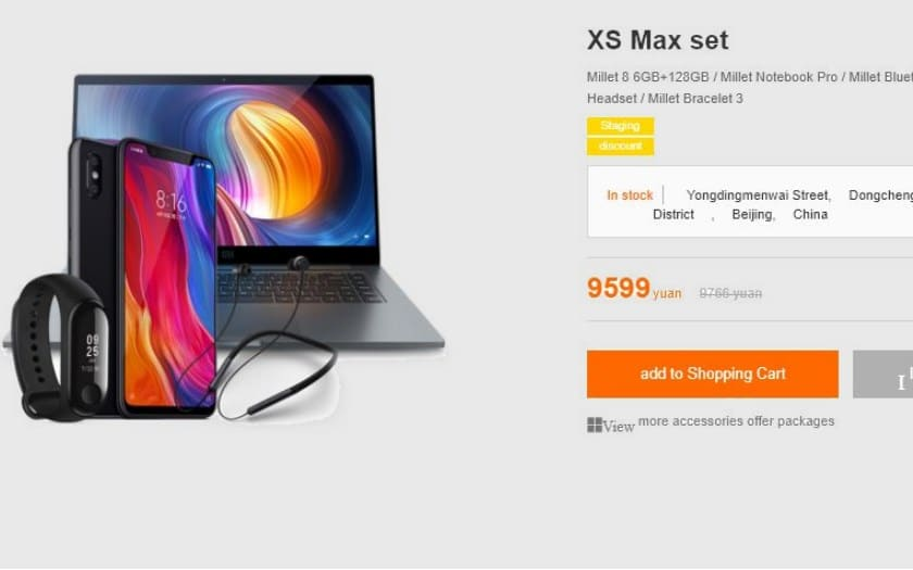 xiaomi trolle apple offres groupees