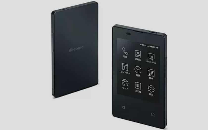 Kyocera KY-O1L smartphone le plus mince au monde