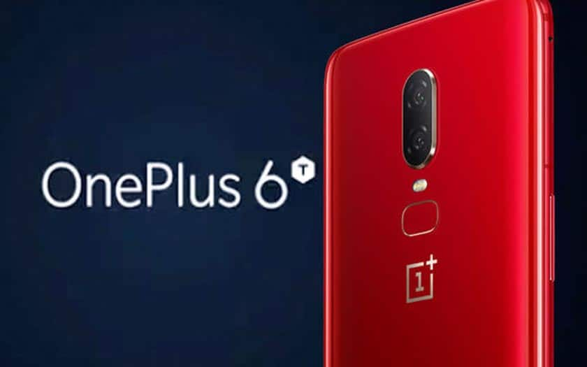 OnePlus 6T rouge