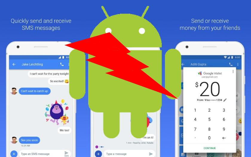 android messages devient messages