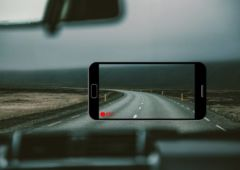 comment transformer smartphone android dashcam 2