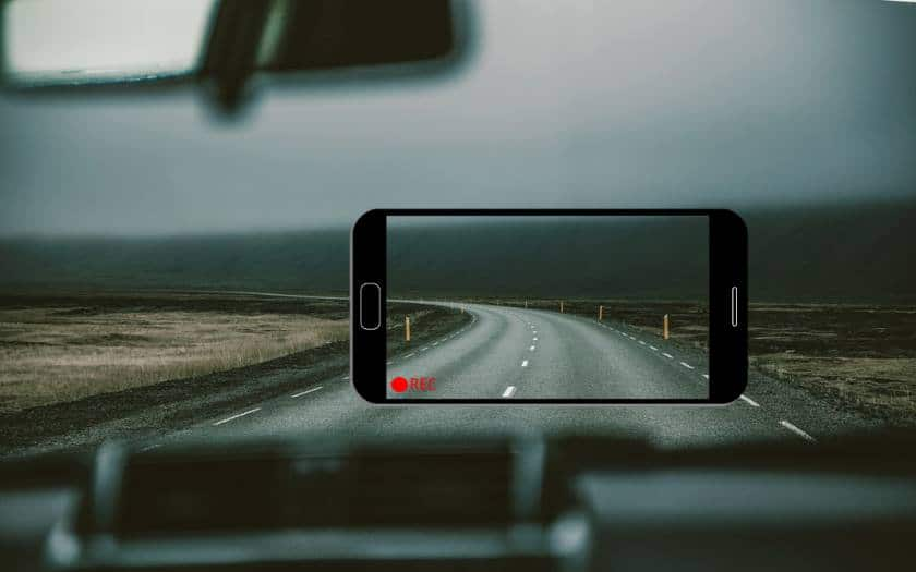 comment transformer smartphone android dashcam