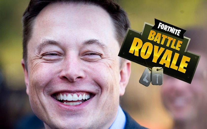 Elon Musk fortnite recap