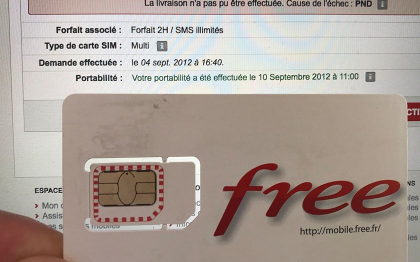 Free Mobile Un Abonne Recoit Sa Carte Sim 6 Ans Apres La Commande