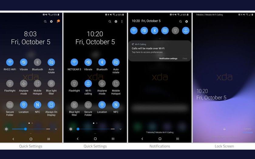 Galaxy Note 9 sous Android 9 0 Pie : la mise à jour se dévoile en