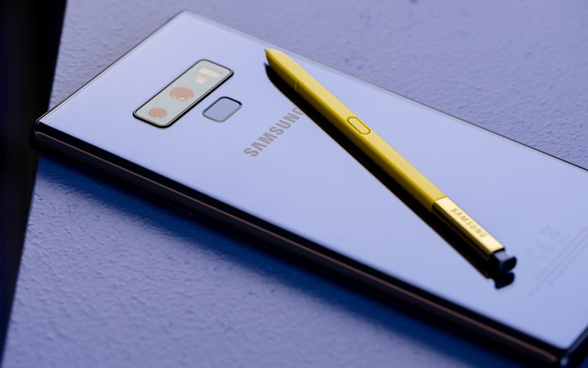 galaxy note 9 vend mieux Galaxy S9 samsung