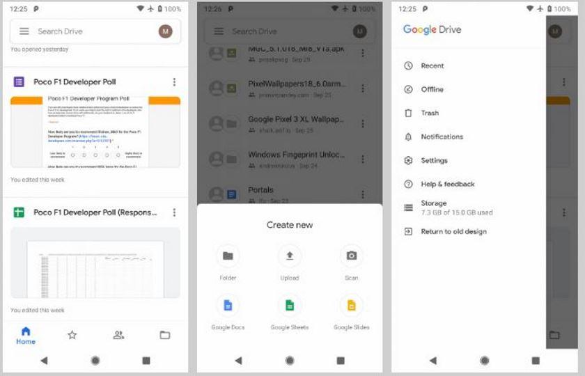 google drive nouveautes